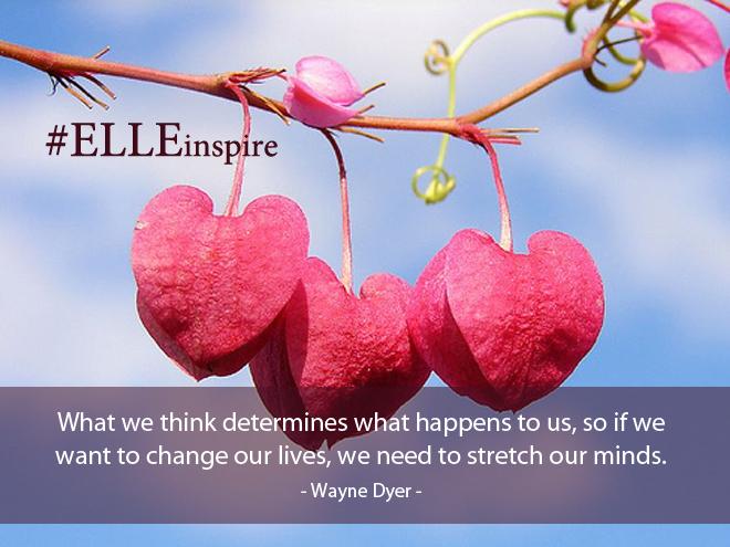 """""""Những điều chúng ta nghĩ quyết định những điều sẽ xảy ra với chúng ta, và vì thế nếu chúng ta muốn thay đổi cuộc sống, chúng ta cần phải thay đổi từ cách suy nghĩ của chúng ta."""" - Wayne Dyer"""