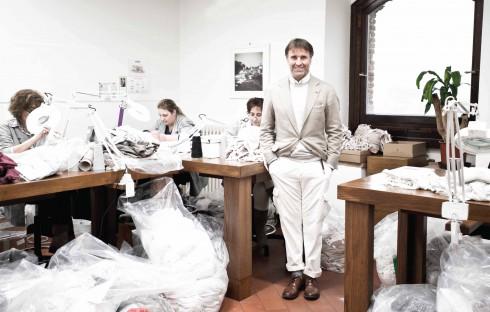 Ông hoàng của thế giới cashmere - Brunello Cucinelli