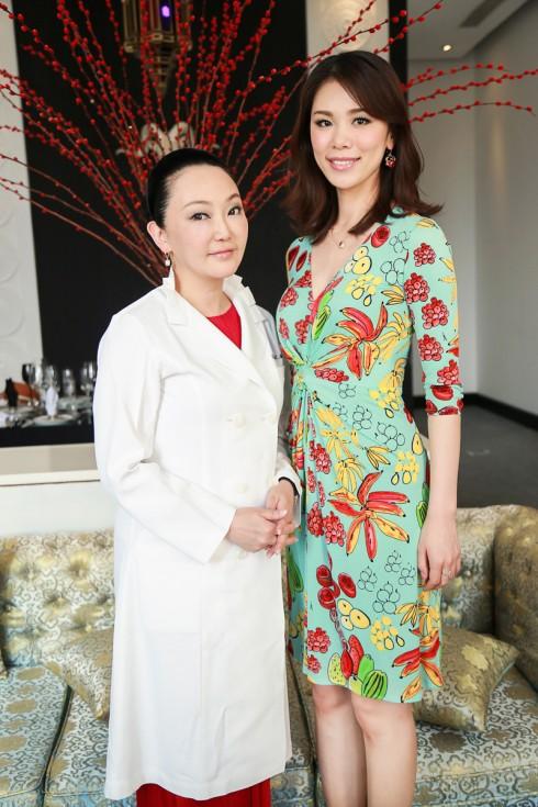 HHHV Riyo Mori và chuyên gia tư vấn về da