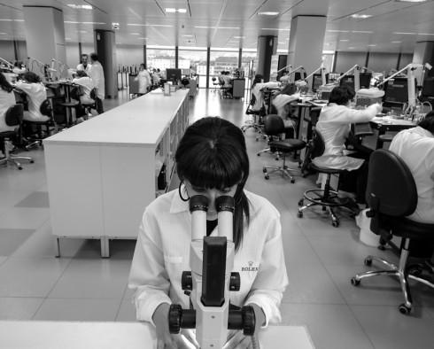 Phòng nghiên cứu và phát triển sản phẩm của Rolex