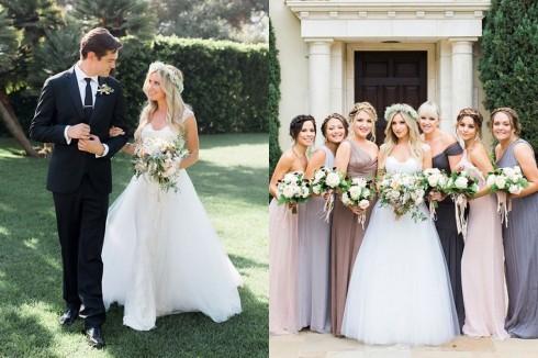 Ashley Tisdale Trong đám cưới của cô