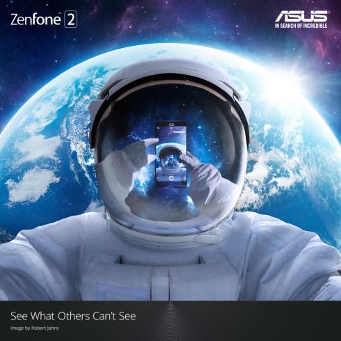 ASUS ZenFone và phi hành gia