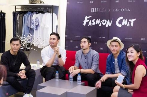 Fashion Chat với các khách mời