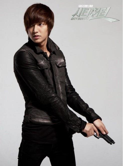 Một Lee Min Ho mạnh mẽ và nam tính hơn trong City Hunter