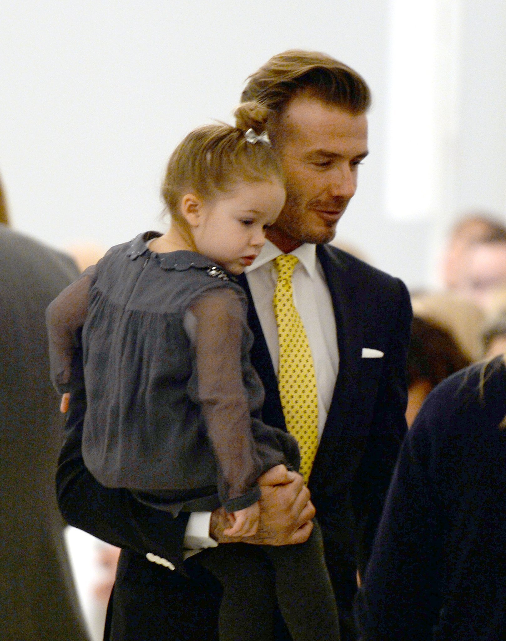 David Beckham khoe ảnh chơi cùng con gái trên Instagram