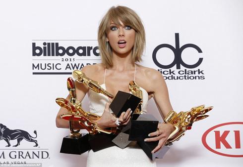 Taylor Swift thắng lớn tại Billboard Music Awards 2015