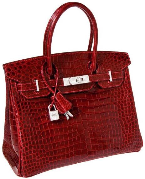 Túi xách da cá sấu của Hermès