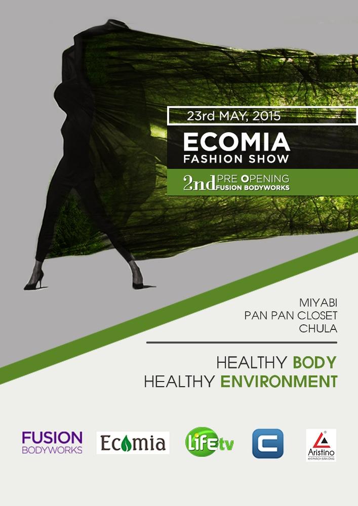 Ecomia Fashion Show 2015 hưởng ứng bảo vệ môi trường