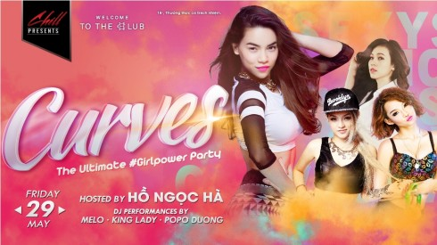 "Chương trình ""CURVES the Ultimate #Girlpower Party"""