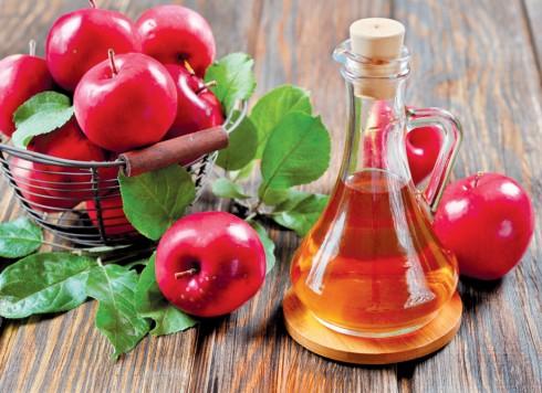 Làm đẹp bằng rượu dấm táo
