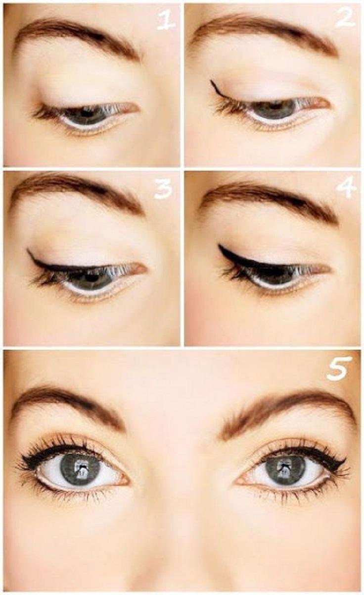 5 bước trang điểm mắt tự nhiên
