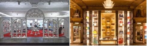 Những cửa hàng mua sắm cao cấp