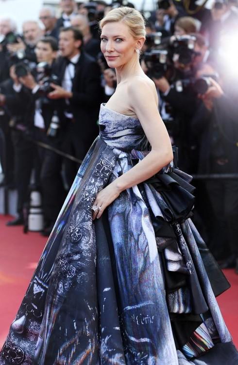 Sự lộng lẫy của Cate Blanchett trên thảm đỏ