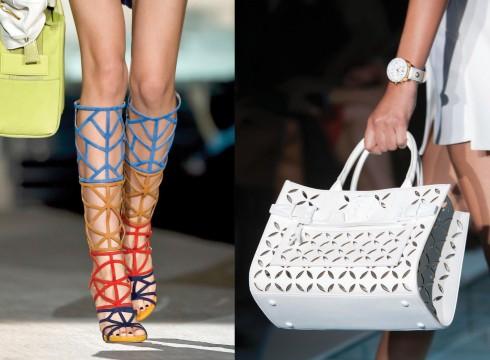 Từ trái qua: Dsquared2, Versace