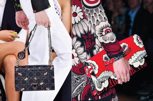Từ trái qua: Dior, Valetino