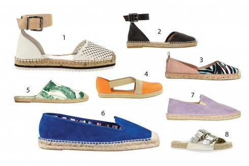 1.BCBG Maxazria 2.Marc By Marc Jacobs 3.French Connection 4.Charles & Keith 5.H&M 6.Nine West 7.Topshop 8.Aldo