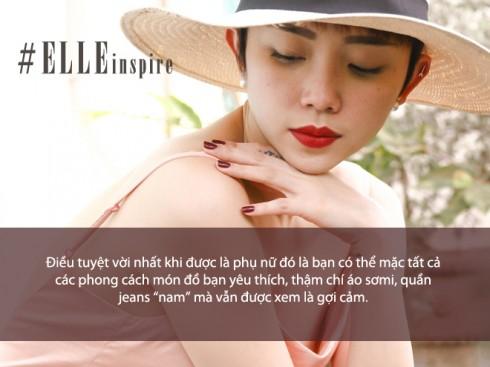 Câu nói hay của ca sĩ Tóc Tiên
