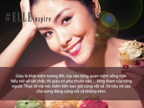 Câu nói hay của ngọc nữ Tăng Thanh Hà