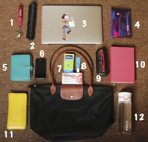 Túi đựng được khá nhiều đồ