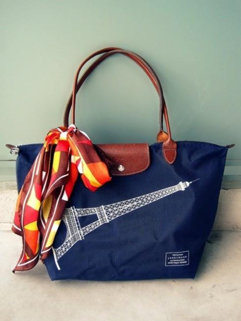 Longchamp bag - le pliage