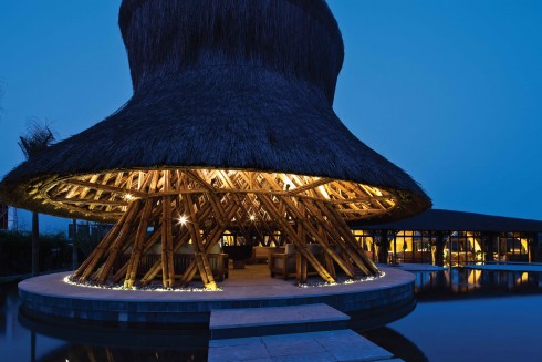 Tre được dùng để kiến tạo nên lối kiến trúc độc đáo chỉ có ở Naman