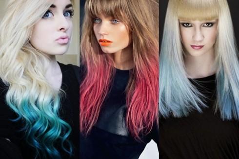 Tô màu ombre cho tóc các kiểu khác nhau