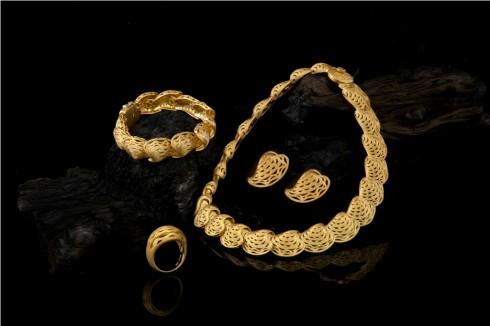 Bộ trang sức vàng 24K