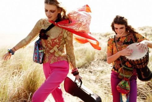 Pattern Play và Luxury Hippie