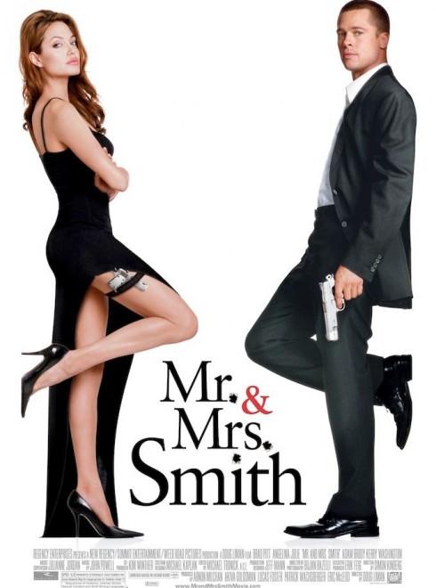Cặp đôi trong phim Mr. & Mrs. Smith