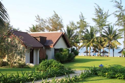 Cảnh quan khu nghỉ dưỡng Palm Garden Resort