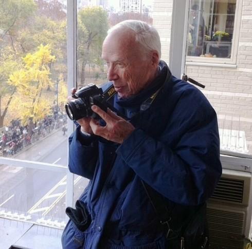 Nhiếp ảnh gia Bill Cunningham