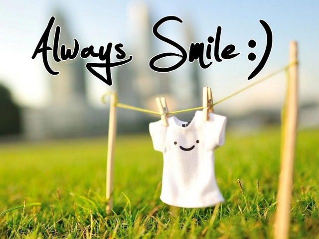 Dù có khó khăn gì chúng ta cũng phải mỉm cười
