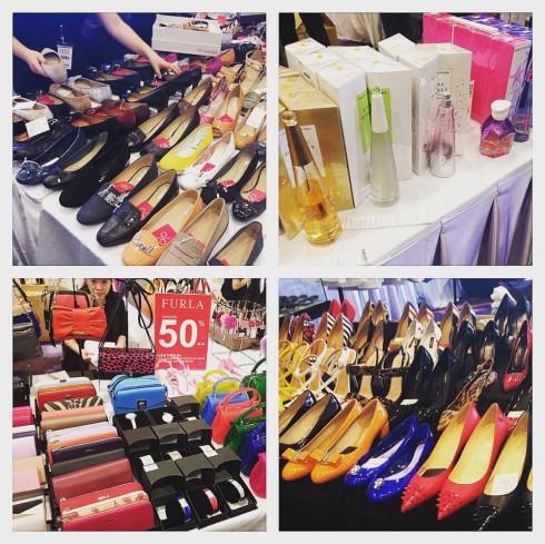 Các gian hàng tại ELLE Private Sale 2015