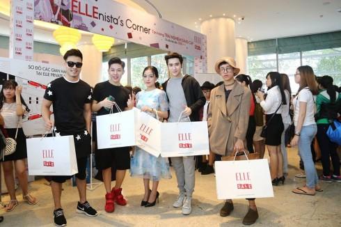 Các Ellenista mua sắm tại ELLE Private Sale