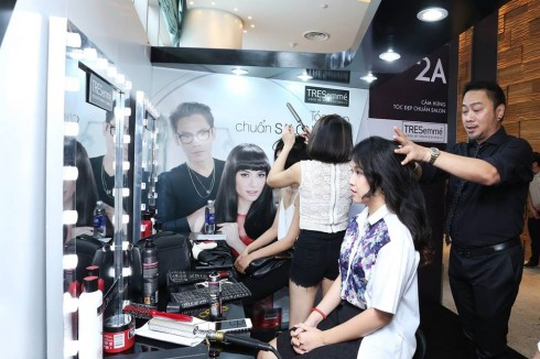 Trải nghiệm dịch vụ chăm sóc tóc tại ELLE Private Sale