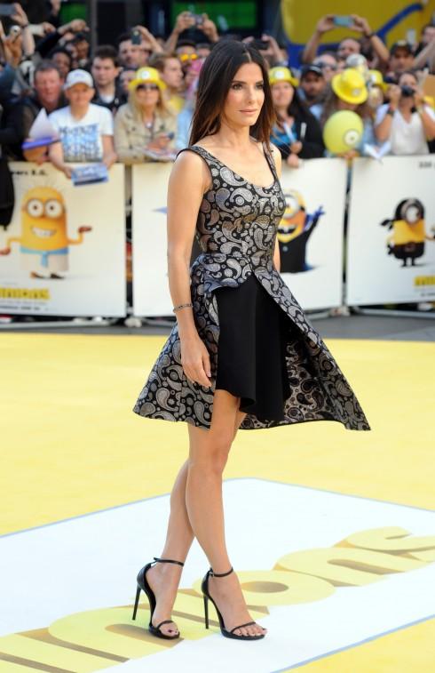 Sandra Bullock lồng tiếng cho nhân vật Scarlett Overkill trong bom tấn phim hoạt hình Minions