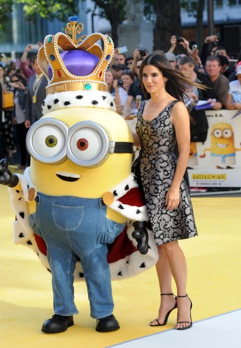 Sandra Bullock là tâm điểm nổi bật ở lễ ra mắt.