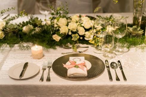 Bàn tiệc cưới JW Marriott