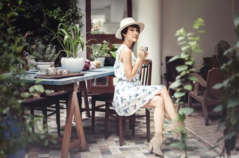 Một ngày của Kathy bắt đầu bằng một ly cappuccino nhiều café (double shot) không đường