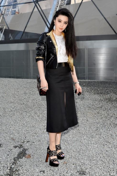 Tại show Louis Vuitton Thu-Đông 2015