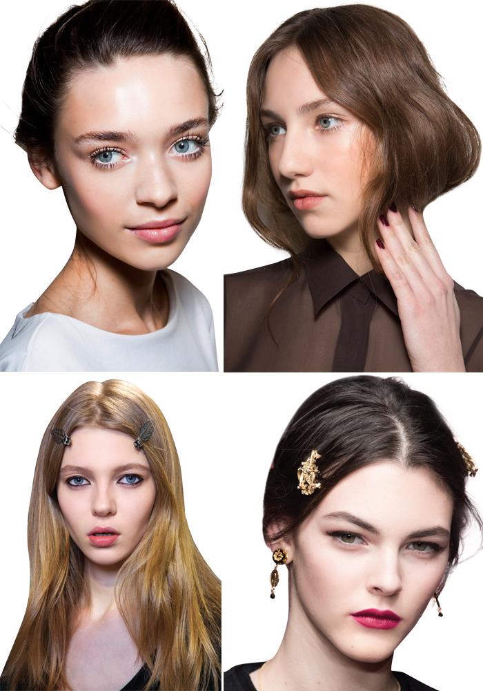 Những kiểu tóc đẹp và cách trang điểm mới nhất