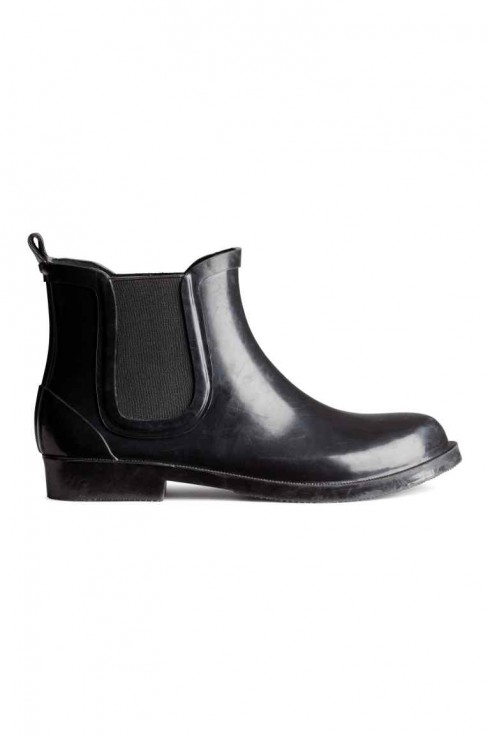 Bốt H&amp;M<br/>H&amp;M Rubber Ankle Boots