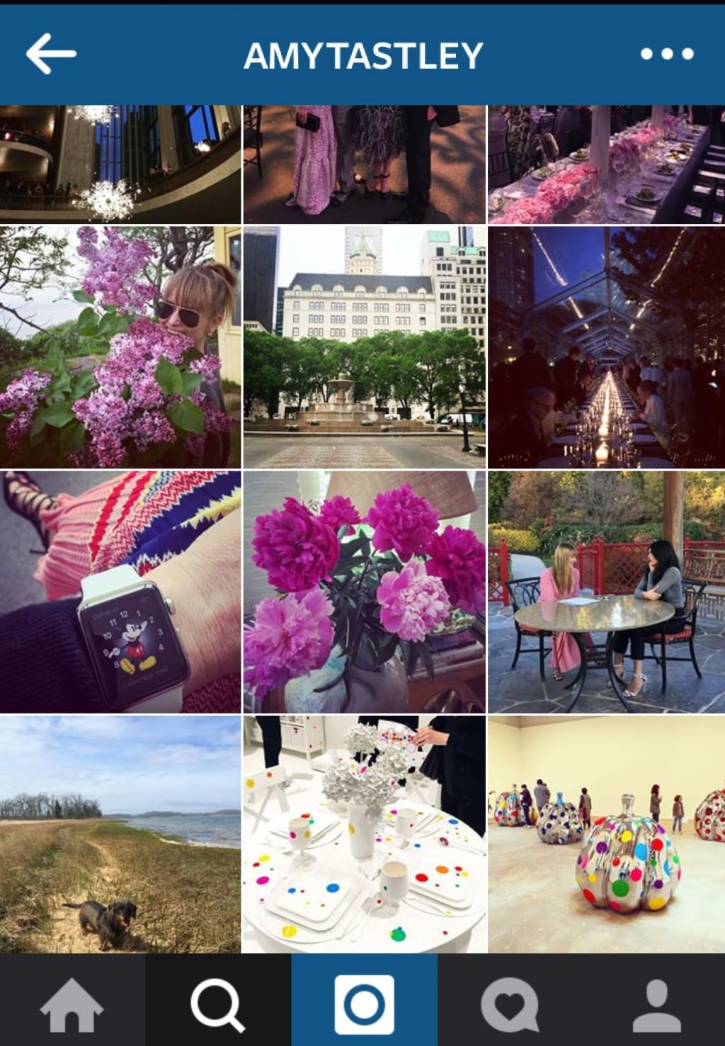 Instagram của Amy Astley có 62.6 ngàn người theo dõi.