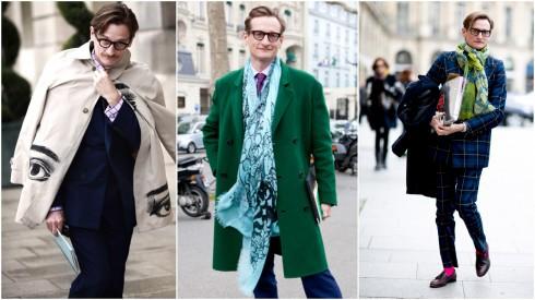 Phong cách thời trang của Hamish Bowles