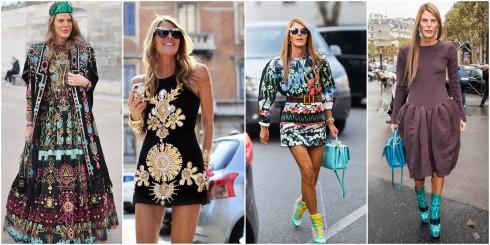 """Phong cách thời trang của """"bà đồng"""" Anna Dello."""