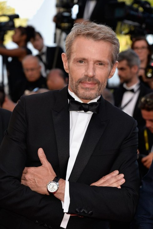MC, Nam diễn viên người Pháp Lambert Wilson cũng đã đeo đồng hồ Clé de Cartier trên thảm đỏ Liên hoan phim Cannes gần đây