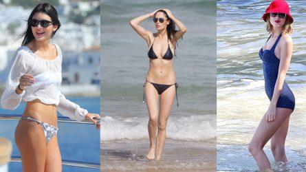 Thời trang bikini nóng bỏng của 13 ngôi sao thế giới