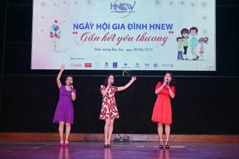 Các tiết mục văn nghệ đặc sắc được dàn dựng và biểu diễn bởi các hội viên HNEW.