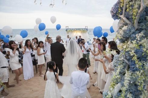 Aroma Beach Resort Wedding