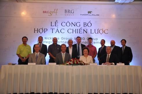 Golf - Lễ công bố hợp tác chiến lược BRG Group - Nicklaus Group